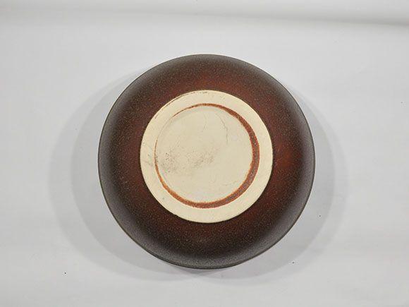 窯肌ボール水鉢 13号