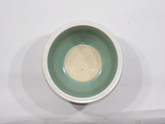 白かすみひねり水鉢 11号