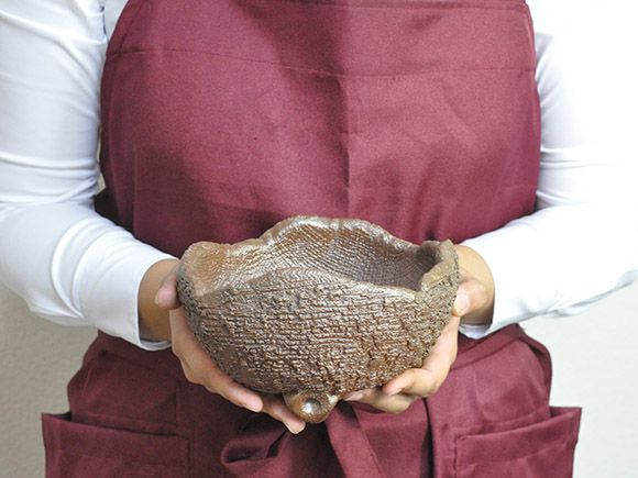 【信楽焼】6号鉢 鉄鉢中深(イラボ)