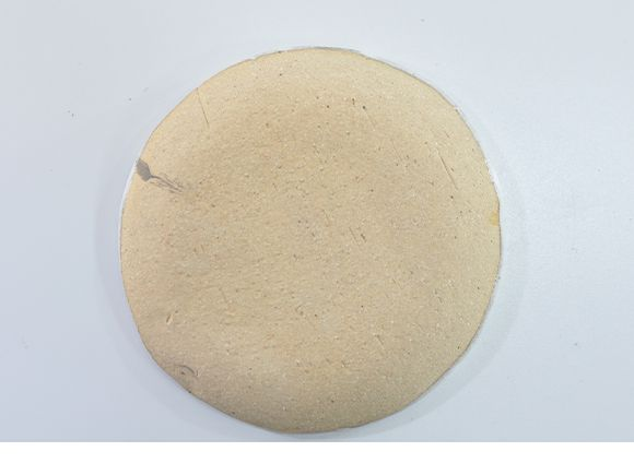 苔玉の丸皿 大