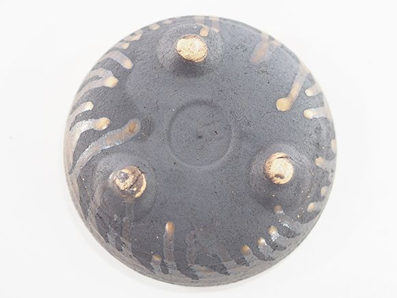 受け皿 鉄鉢