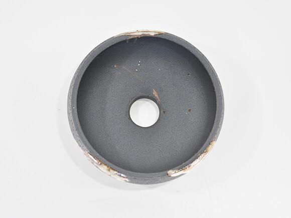 6号 鉄鉢 いぶし