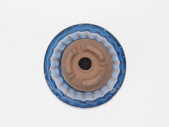 万古焼 生子立筋 3号 幅10cm×高さ6.3cm