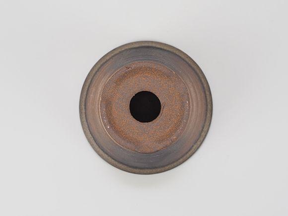 万古焼 金吹 3.5号 浅型 幅11cm×高さ7.5cm