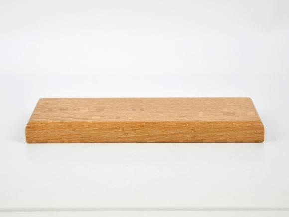 盆栽花台  レッドオーク 長方形 8号 幅25cm×奥行9.5cm×高さ2cm