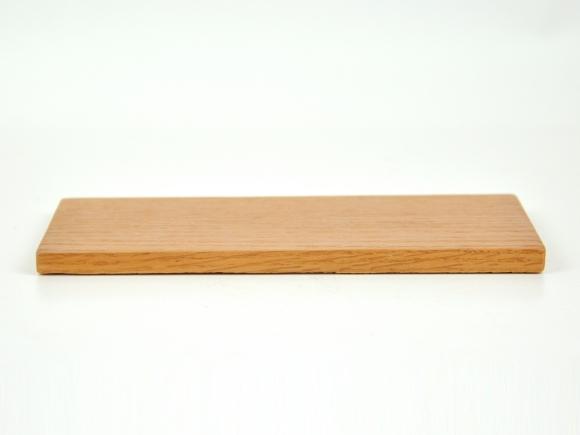 盆栽花台  レッドオーク 長方形 薄型 7号 幅22cm×奥行10cm×高さ1cm
