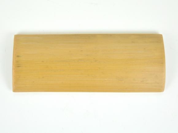 竹の器 8号 幅24cm×奥行9.5cm×高さ3cm