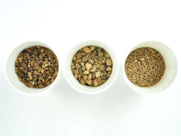 松盆栽の土【中粒5mm-S】 オリジナル配合  重さ:800g  内容量:0.8L