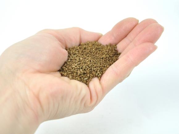 硬質赤玉土 極小品【極小粒1mm-LL】二本線  重さ:7kg  内容量:10L