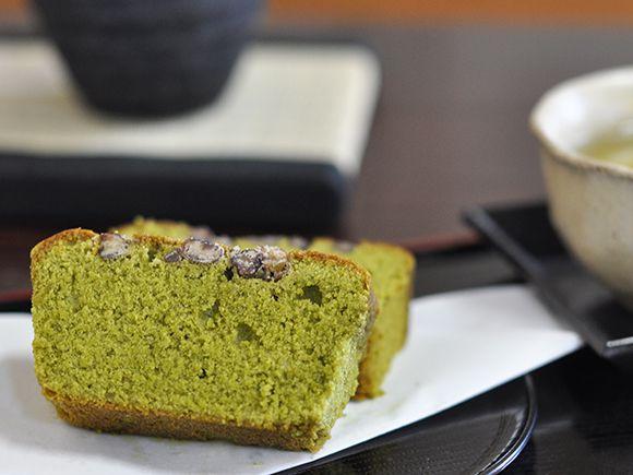 盆栽抹茶ケーキ