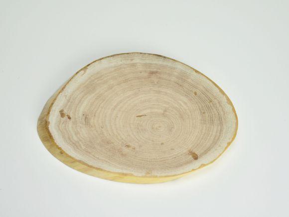 盆栽花台 ネムの木 楕円小 横約15〜16cm×縦約13〜14cm×高さ約1〜1.5cm