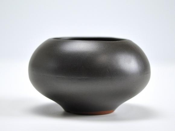 黒3.5号 鉢幅約11cm×高さ約7cm