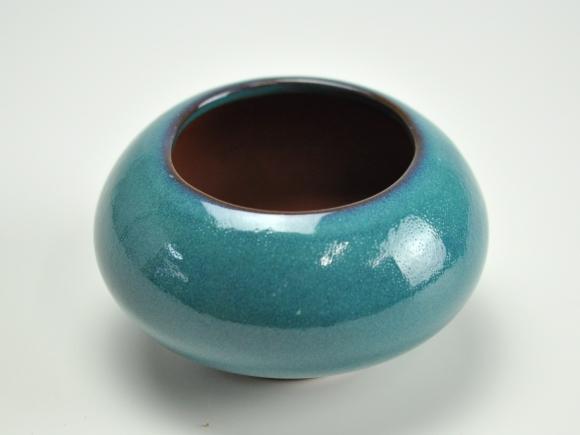 トルコブルー3.5号 鉢幅約11cm×高さ約7cm