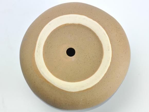 ポリーヌ 紺M【受け皿付き】幅約18cm×高さ約14cm/内寸幅約13.5cm