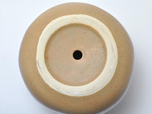 ポリーヌ 赤M【受け皿付き】幅約18cm×高さ約14cm/内寸幅約13.5cm