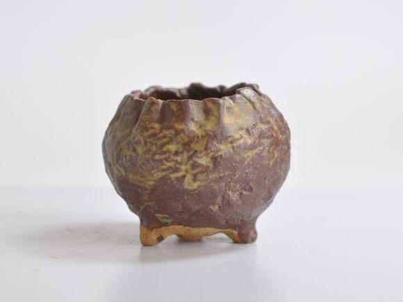 つぼみ型山野草鉢3号