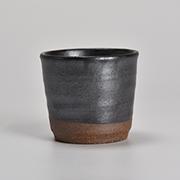 黒マットミニ鉢 3号