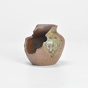 作家鉢 2.5号 つぼ型縦置き 伊藤光伸作 幅6.5cm×高さ6.5cm